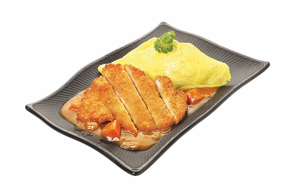 CURRY OMURICE: Fried Chicken