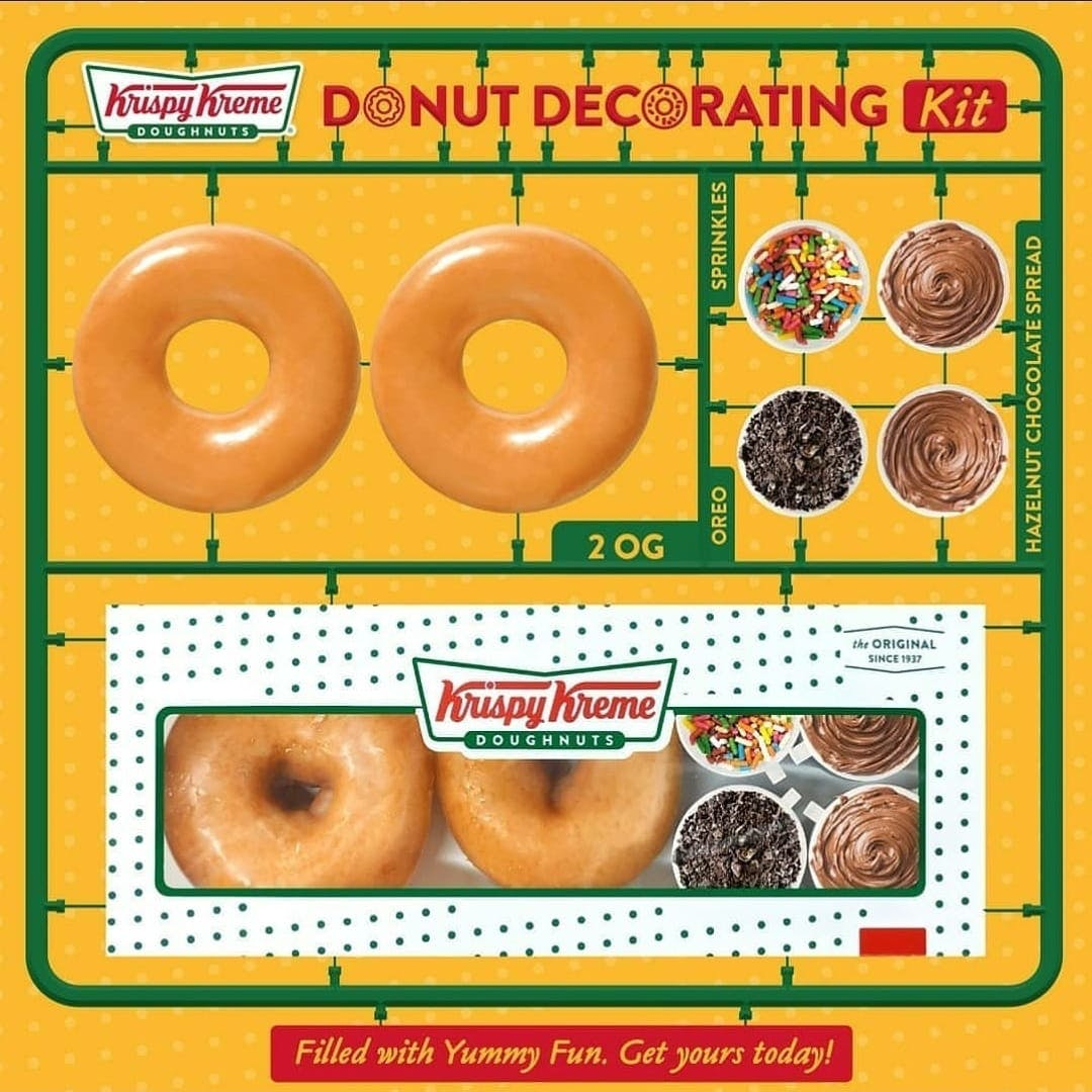 Krispy Kreme Doughnut Decorating Kit