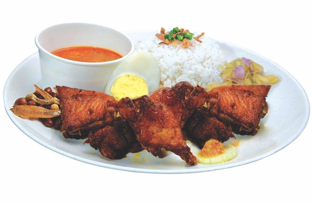 Nasi Ayam Goreng Berempah