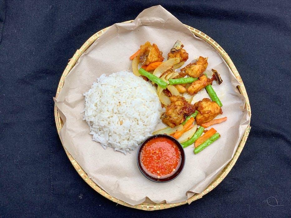 Ayam Goreng Kunyit (B)