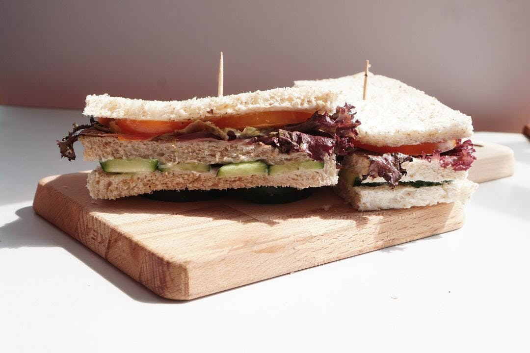 Vegetarian Wholemeal Sandwich
