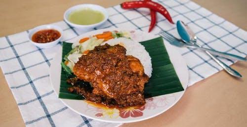 Set A Nasi Rendang Ayam