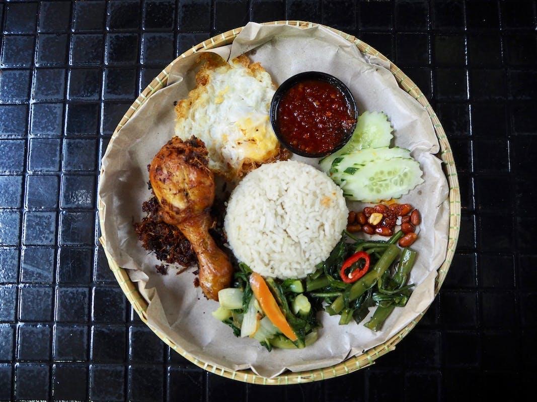Nasi Lemak Ayam + Egg & 2 Veg