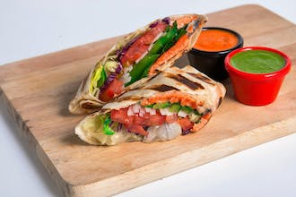 Vegeterian wrap
