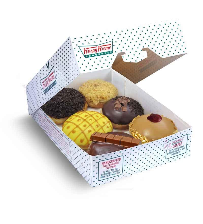 Half Dozen Assorted Doughnuts