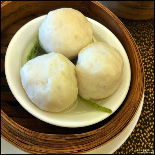 Steam Fish Ball (4 pcs)