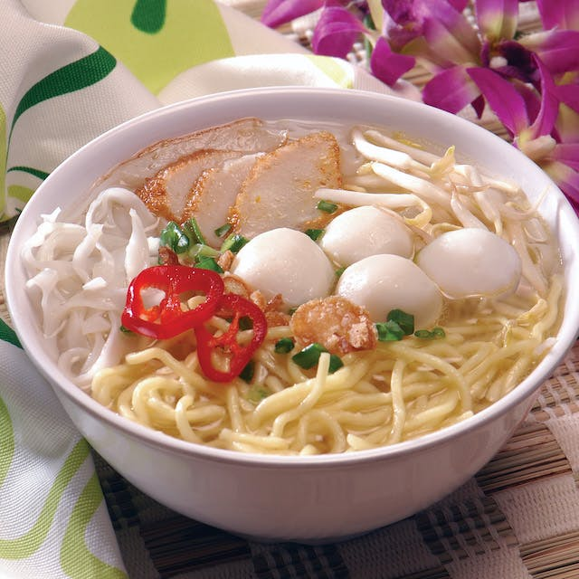 Fish Ball Mee Soup