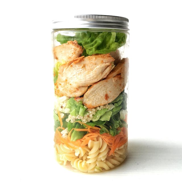 Quinoa Spiced Chicken Jar (452 kcal)