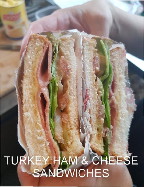 Turkey Ham & Cheese Sandwich