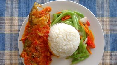 Nasi, Ikan Selar Sambal