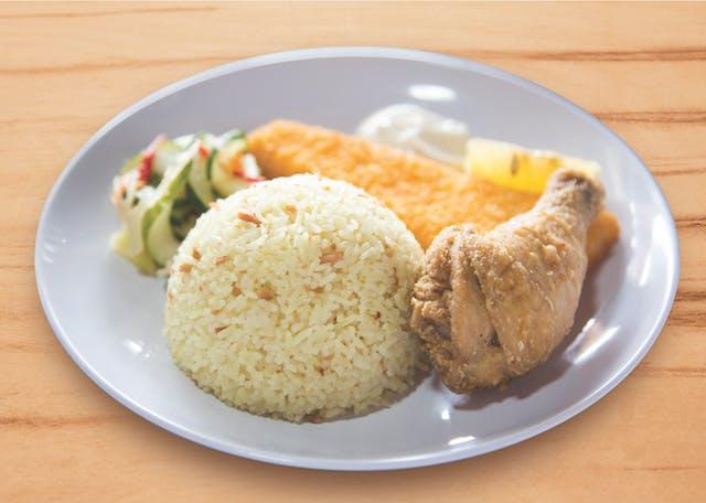 Fish Filet & Broasted Chicken