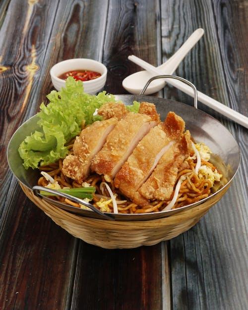 Crispy Chicken Fried Noodle