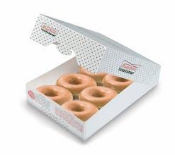 Half Dozen Org Glazed® Doughnuts