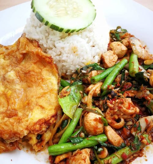 PICK your Malay Stir Fry for 8.90