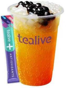 Sparkling Mango Tea 3Q Jelly with Antioxidant