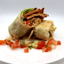 Cajun Chicken Thigh Wrap