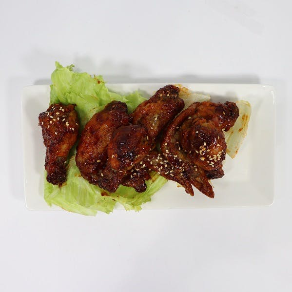 Korean Fried Wings (6 pcs)