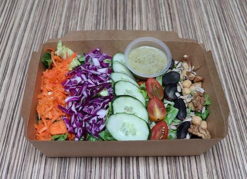 Nutty Baby Salad Box (veg)