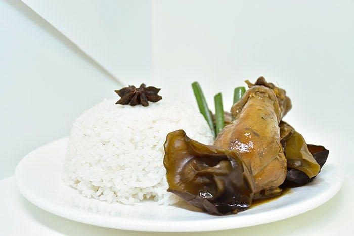 Black Fungus Rice