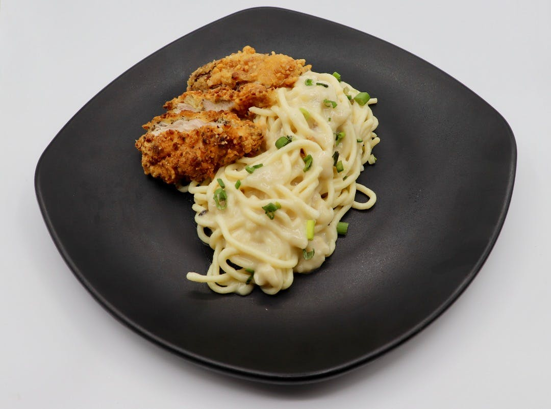 Chicken Chop Spaghetti