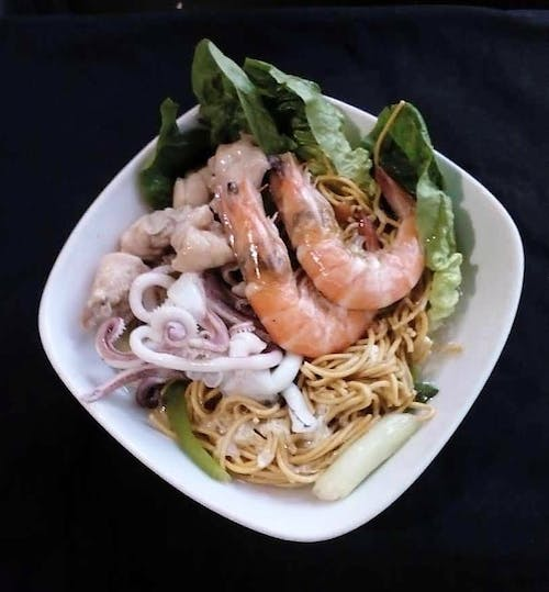 Seafood Cantonese Fried Mee Suah