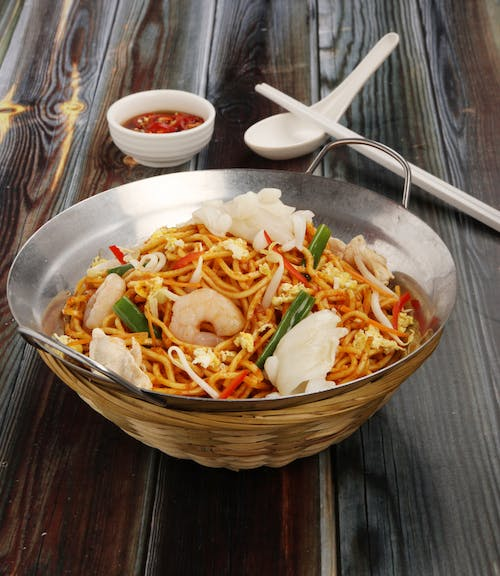 Hot Spicy Fried Noodles