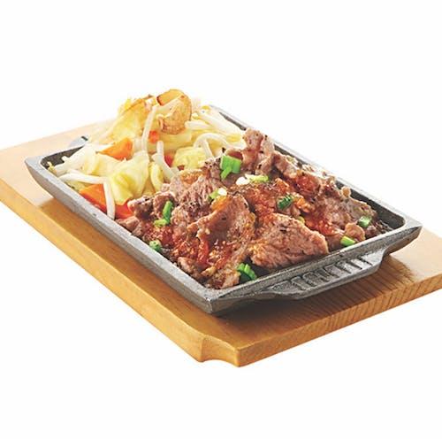 TEPPAN YAKI SET: Kimchi Beef