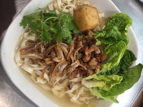 Pan Mee Soup Noodle