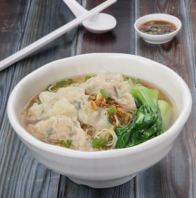 Dumpling Mee Soup