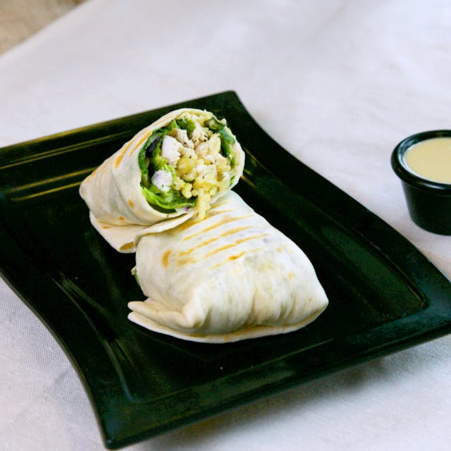 Triple Cheese Indulgence wrap