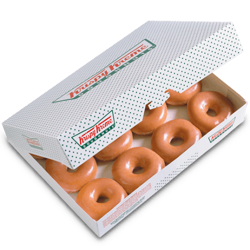 One Dozen Org Glazed® Doughnuts