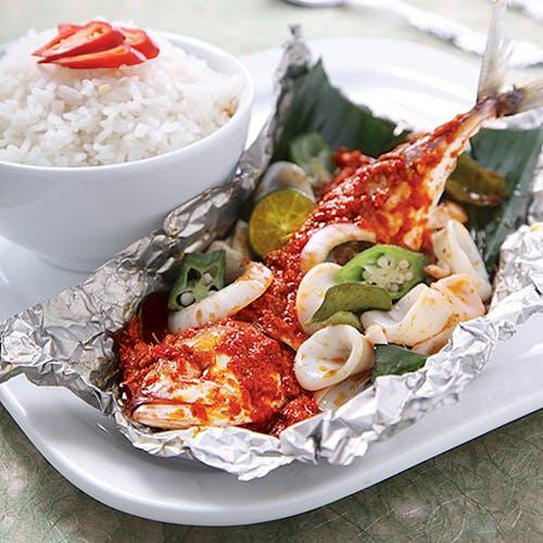 Ikan Kembong + Sotong Set