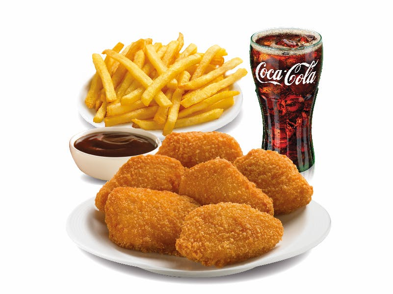Nuggets Combo Meal - Regular