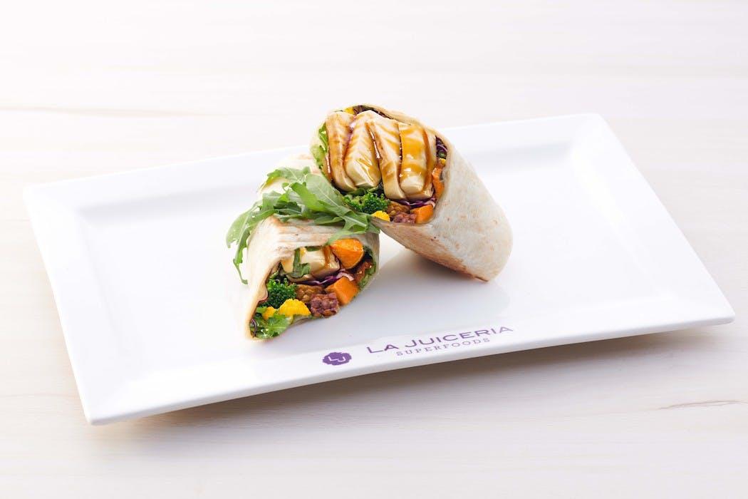 Tofu Garden Wrap (veg)