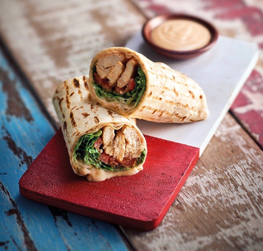 Chicken Wrap with 2 Reg Side