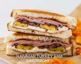 Hawaiian Turkey Ham Sandwich
