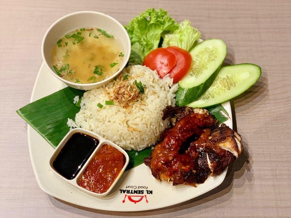 Nasi Ayam Madu Melayu