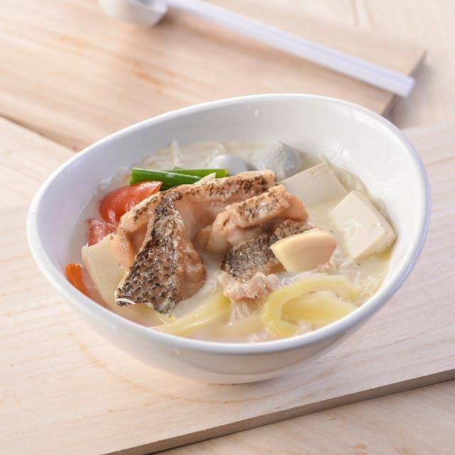 Fish Fillet Pan Mee Soup