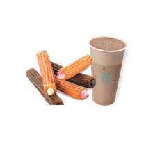 Set Menu B: Filling Churros +Drinks