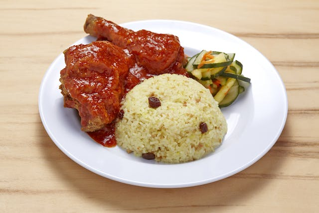 Saucy Kano Broasted Chicken Meal