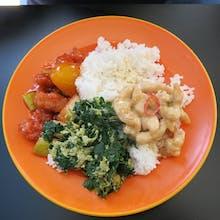 Economic Rice (2 vege + 2 meat)