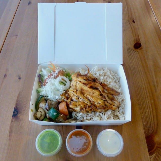 Chicken Thigh Rice Bowl