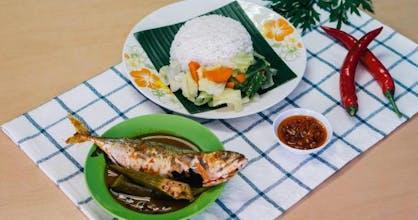 Set C Nasi Asam Pedas Ikan Kembung