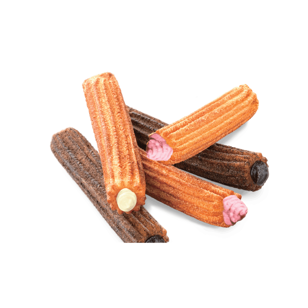 Filling Churros Chocolate