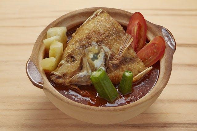 Eco Fish Assam Claypot Meal