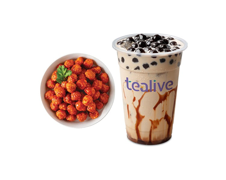 Combo: Hot BBQ Pops + 1 Tealive Drink