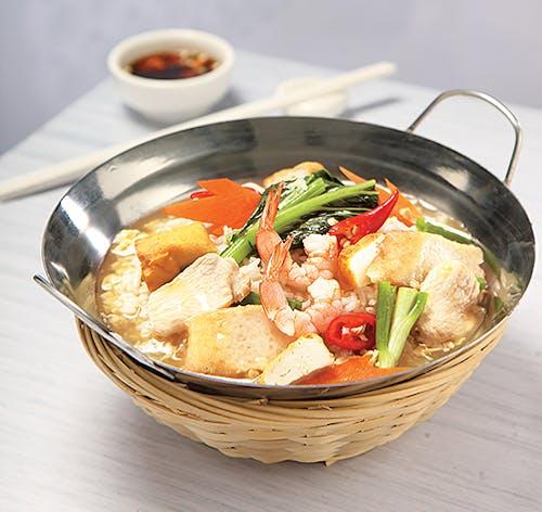 Sung Kong Tou Fu Rice (seafood)