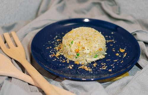 Nasi Goreng Ikan Masin + Fried Egg