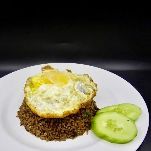 Nasi Goreng Daging + Fried Egg