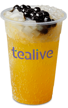 Sparkling Passion Fruit Tea